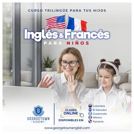 Inglés & Francés para niños